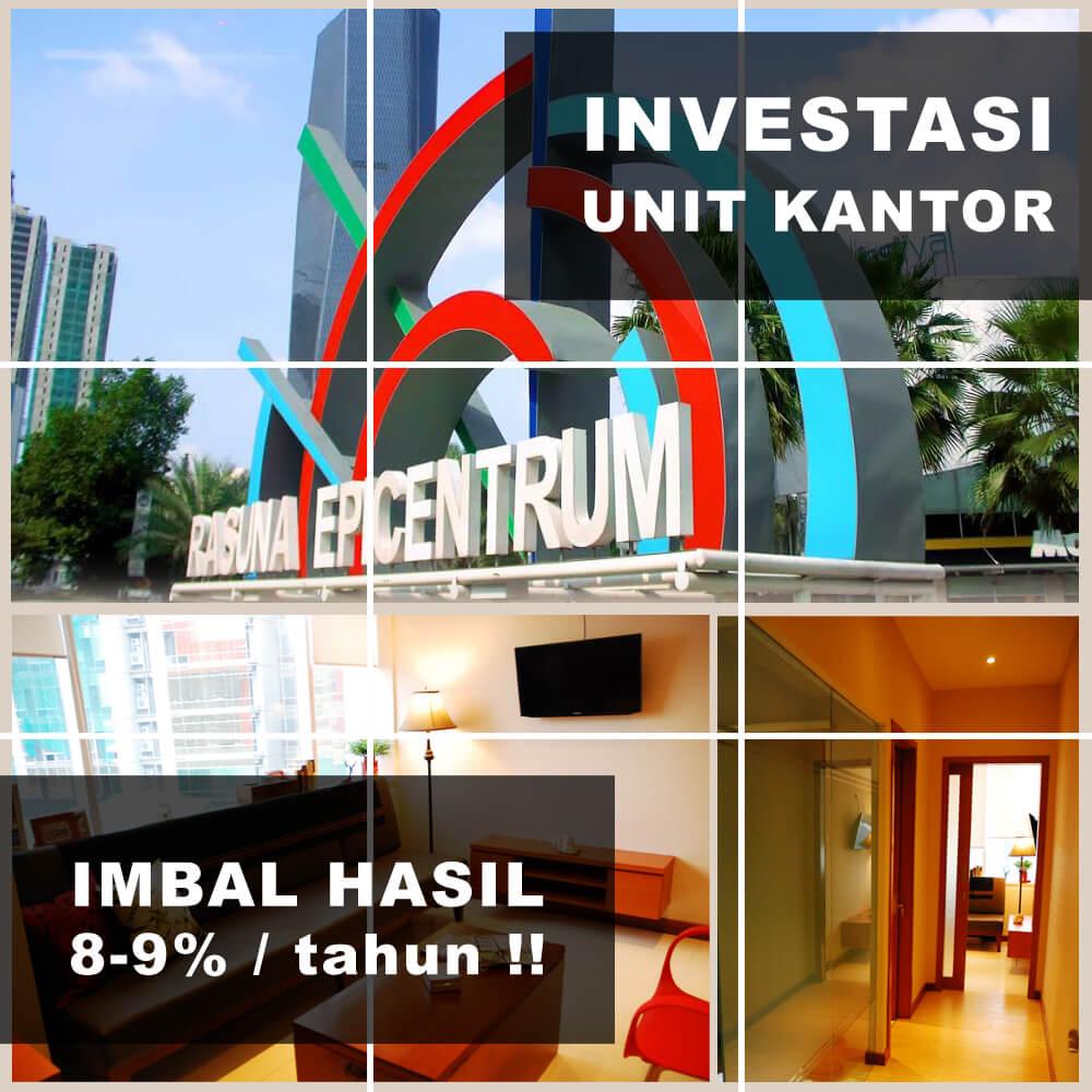 Investasi Unit Kantor EpiWalk Rasuna Kuningan Jakarta