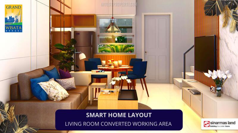 Living Room Rumah Monte Torena