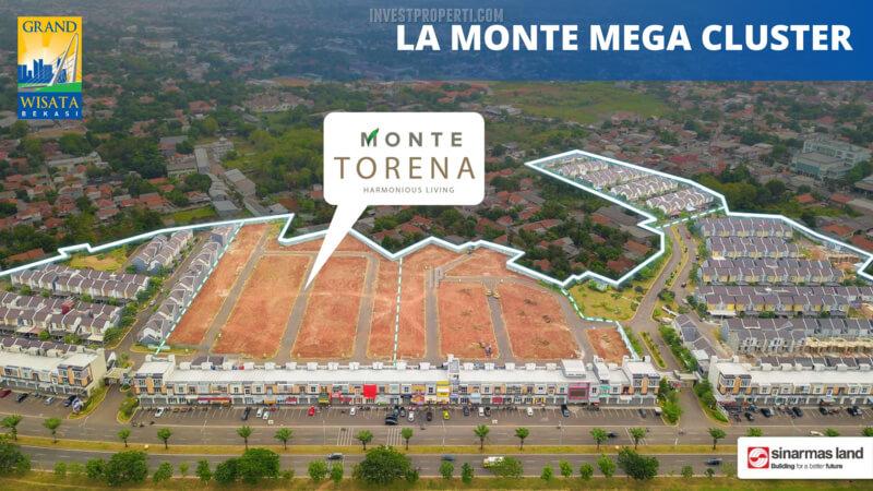 Lokasi Cluster Monte Torena Grand Wisata