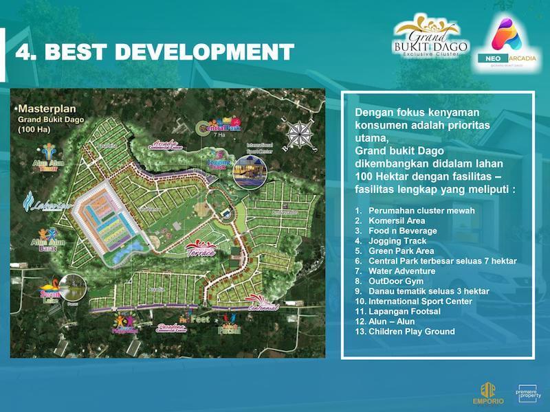 Master Plan Grand Bukit Dago Bogor