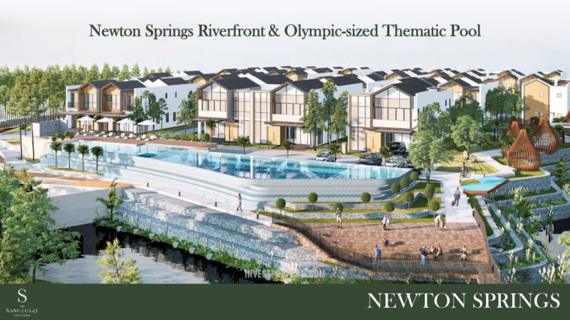 Newton Springs Sentul Facilities - Olympic Size Pool