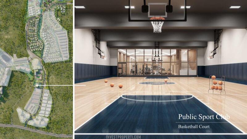 Fasilitas Shila Sawangan - Basketball Court