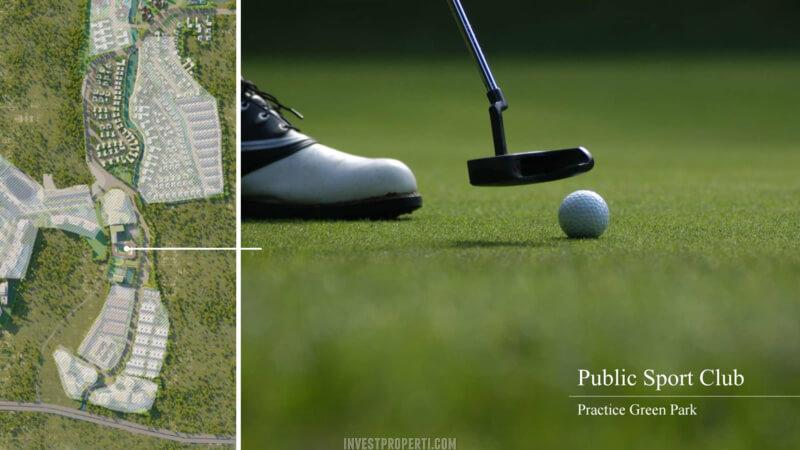 Fasilitas Shila Sawangan - Golf Course