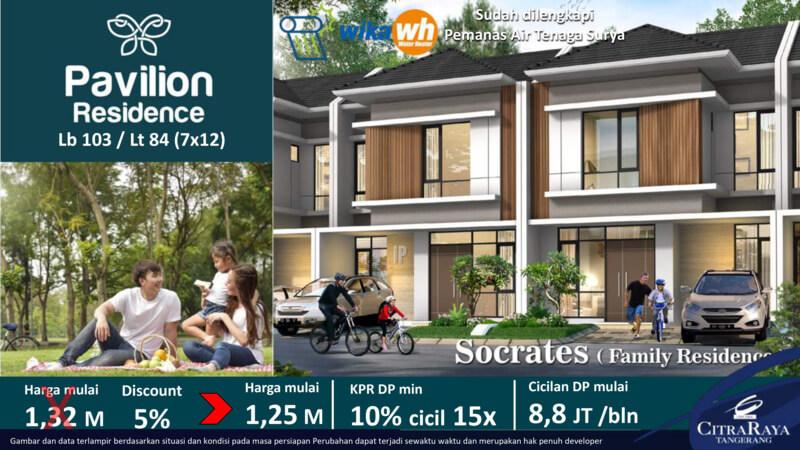 Rumah Socrates Pavilion Residence CitraRaya