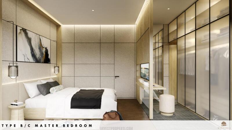 Rumah Wisteria Metland Menteng Cakung Tipe B-C - Master Bedroom