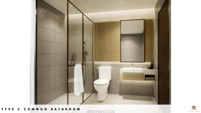 Rumah Wisteria Metland Menteng Cakung Tipe C - Bathroom