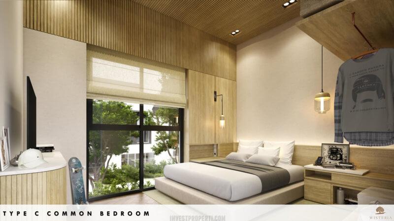 Rumah Wisteria Metland Menteng Cakung Tipe C - Bedroom