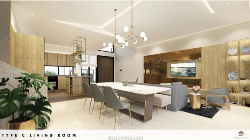 Rumah Wisteria Metland Menteng Cakung Tipe C - Living Room