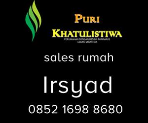 Sales Marketing Rumah Puri Khatulistiwa Bekasi