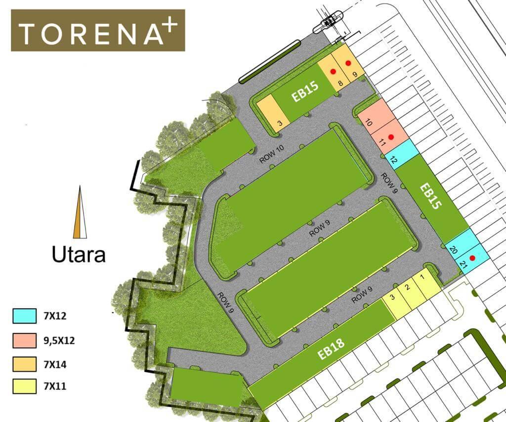 Siteplan Cluster Monte Torena+ Grand Wisata Bekasi