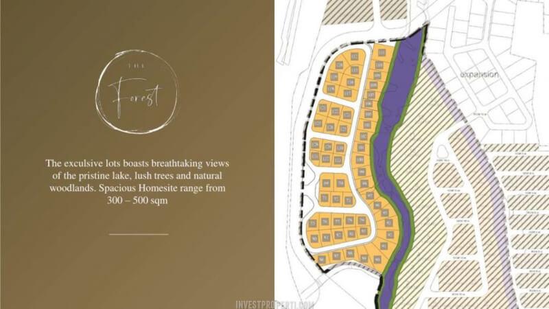 Siteplan Tanah Kavling Shila Sawangan