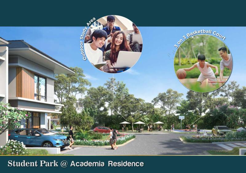Student Park Siteplan Academia Residence CitraRaya