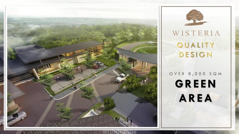 Wisteria Metland Menteng Cakung - Green Area