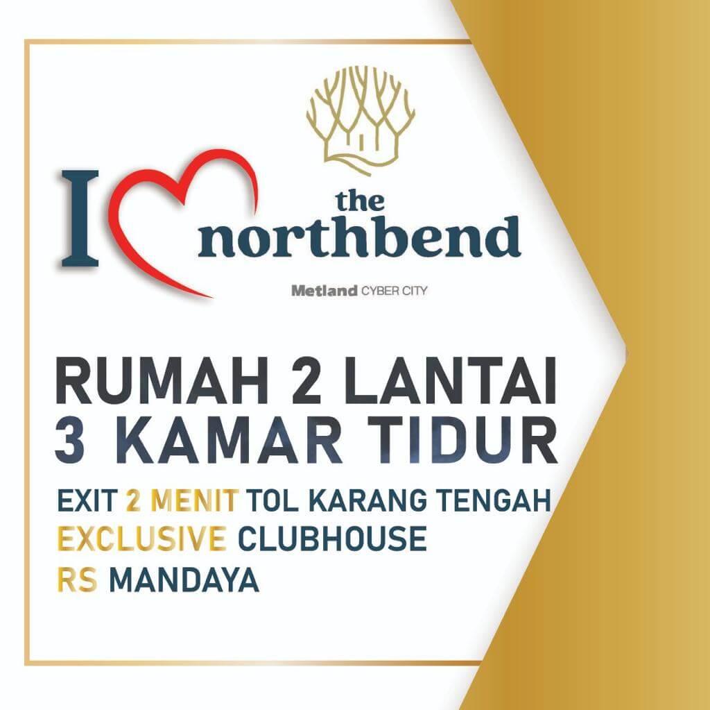 Launching Rumah Northbend Metland Puri