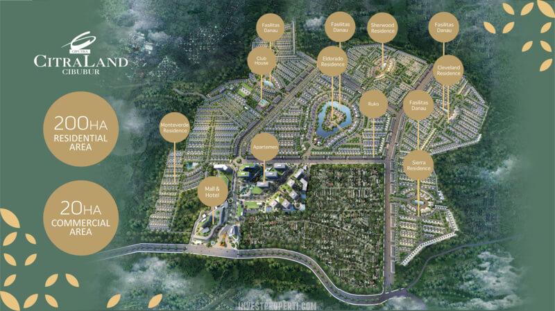 Master Plan Citraland Cibubur