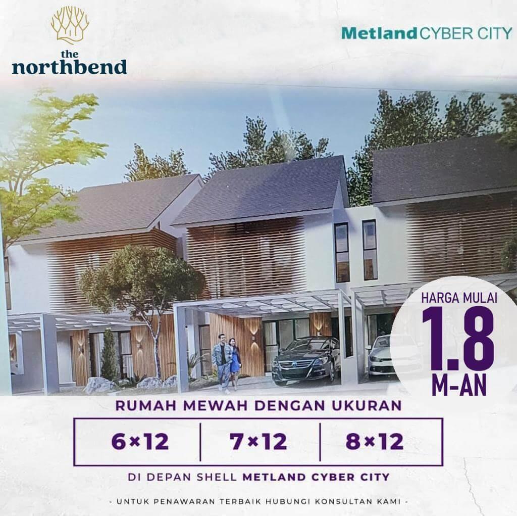 Rumah Northbend Metland Puri