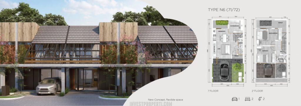 Rumah Asera Nishi KHI Bekasi Tipe N6