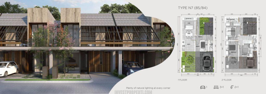 Rumah Asera Nishi KHI Bekasi Tipe N7