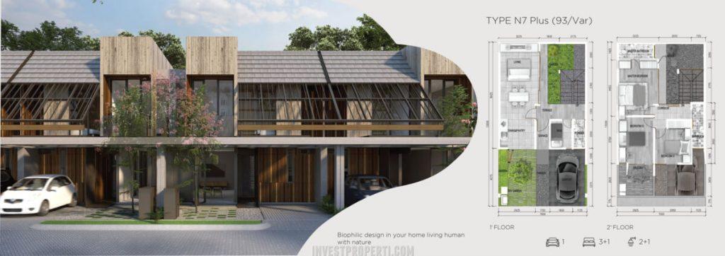 Rumah Asera Nishi KHI Bekasi Tipe N7 Plus