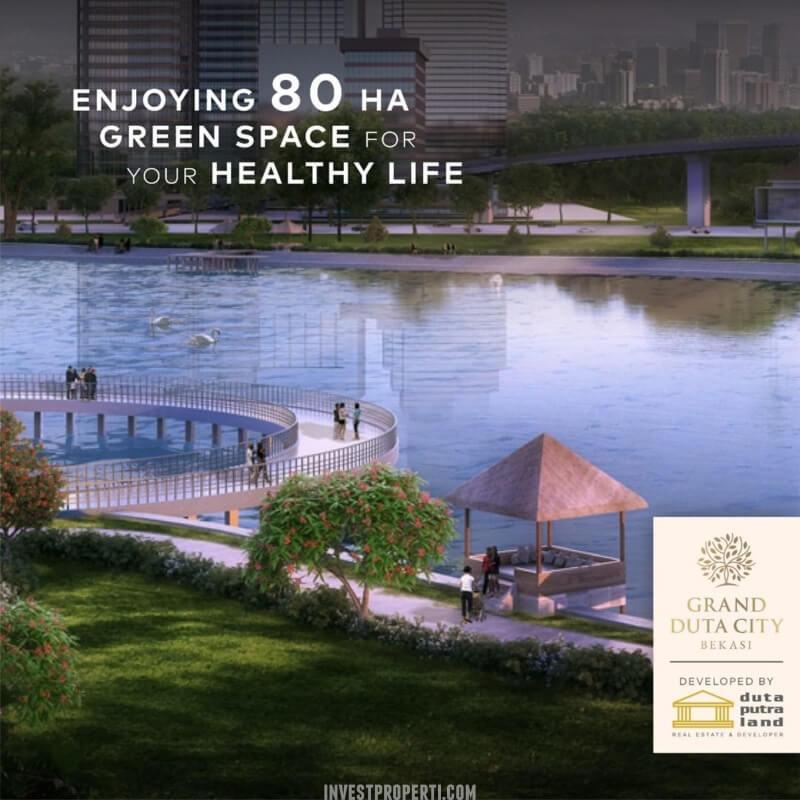 80 ha green space Grand Duta City Bekasi