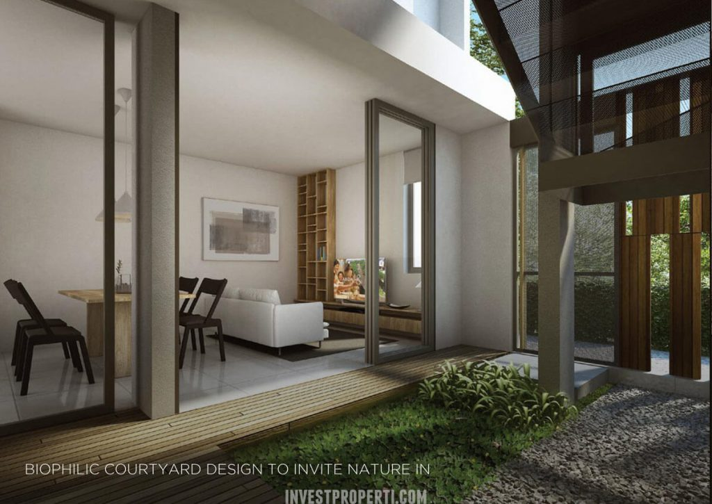 Design Rumah Asera Nishi KHI Bekasi - Courtyard
