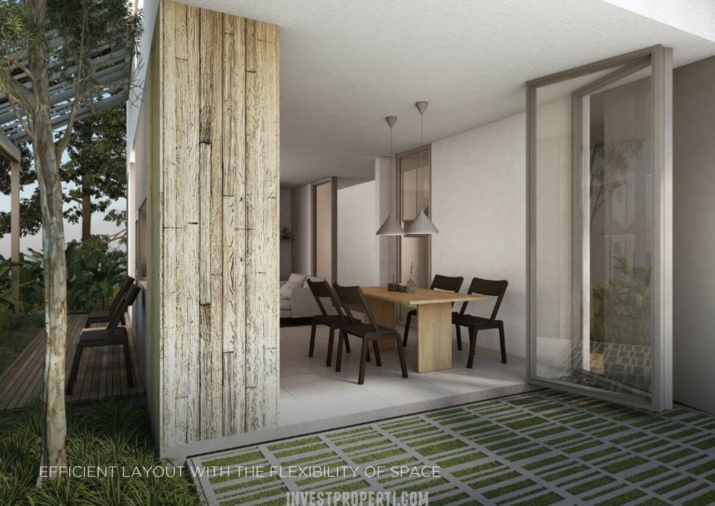 Design Rumah Asera Nishi KHI Bekasi - Dining Room