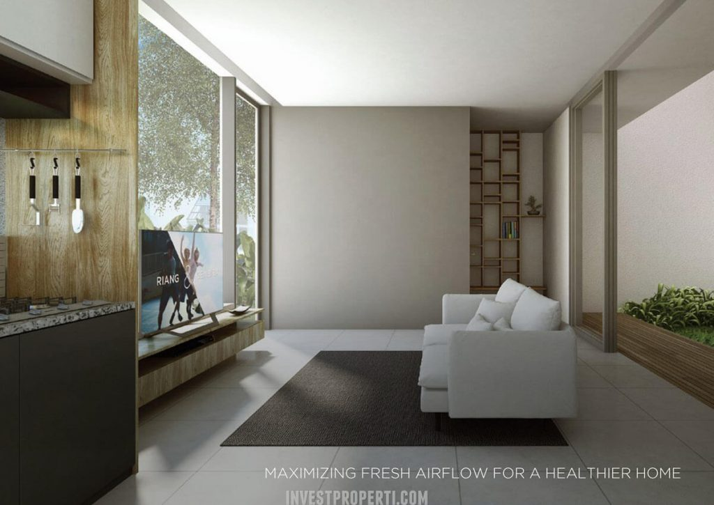 Design Rumah Asera Nishi KHI Bekasi - Ruang Tamu