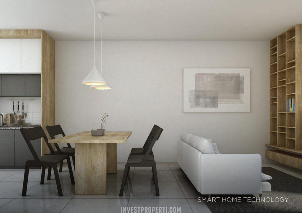 Design Rumah Asera Nishi KHI Bekasi - Smart Home