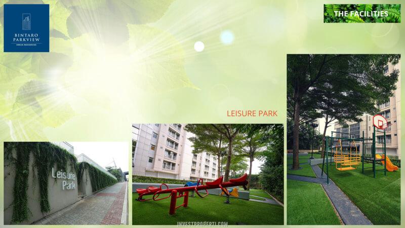 Fasilitas Bintaro Park View - Linear Park