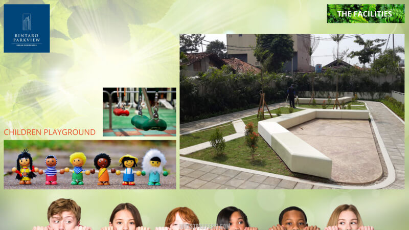 Fasilitas Bintaro Park View - Children Playground