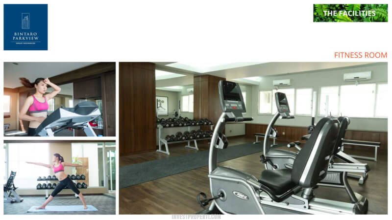 Fasilitas Bintaro Park View - Fitness Room