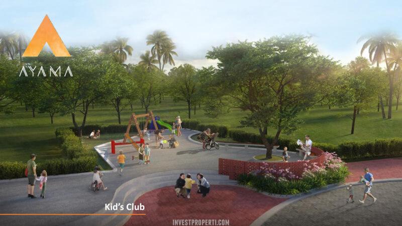 Fasilitas Cluster Ayama Tangerang - Kids Club