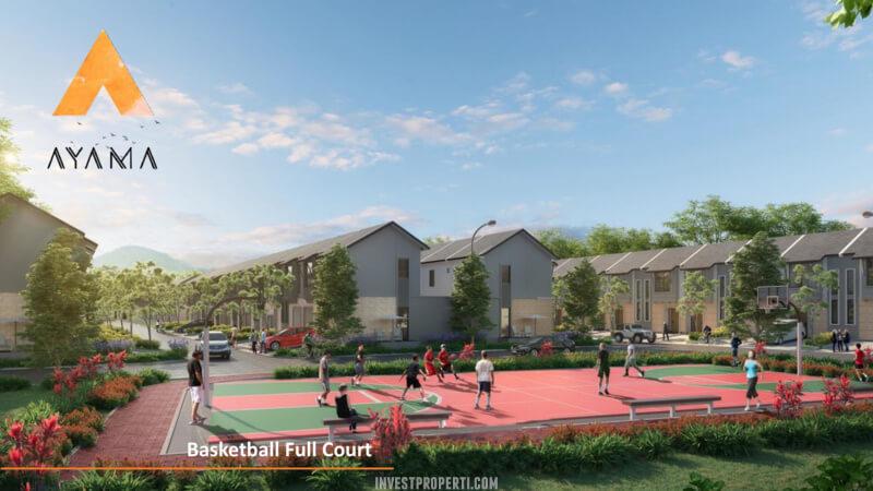 Fasilitas Cluster Ayama Tangerang - Lapangan Basket