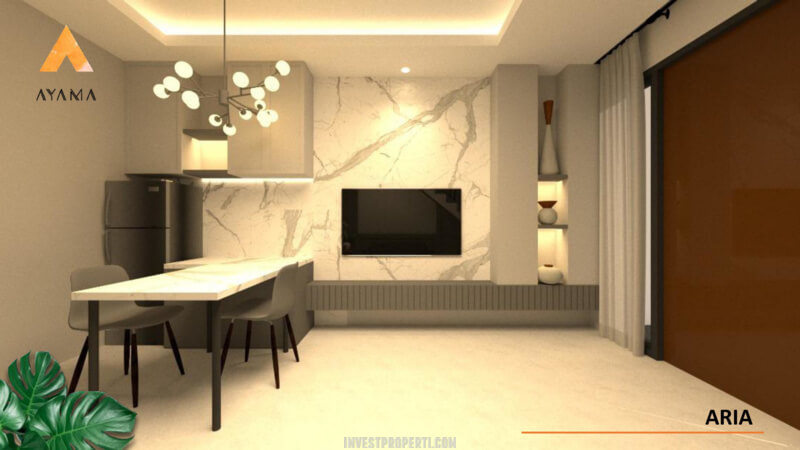 Interior Rumah Ayama Tangerang Tipe Aria - Living Room