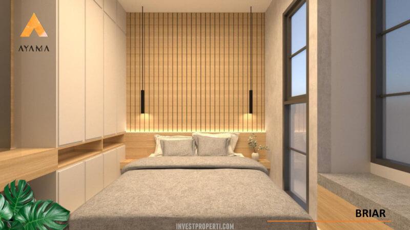 Interior Rumah Ayama Tangerang Tipe Briar - Bed Room