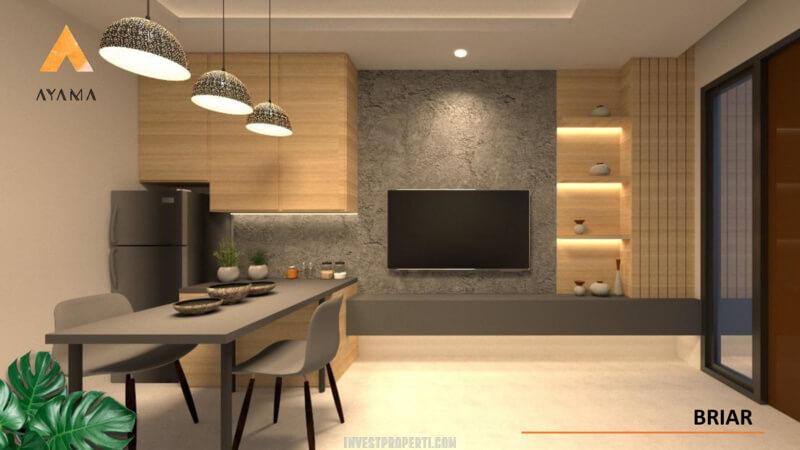 Interior Rumah Ayama Tangerang Tipe Briar - Living Room