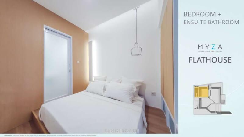 Rmah Myza BSD - Ensuite Bedroom