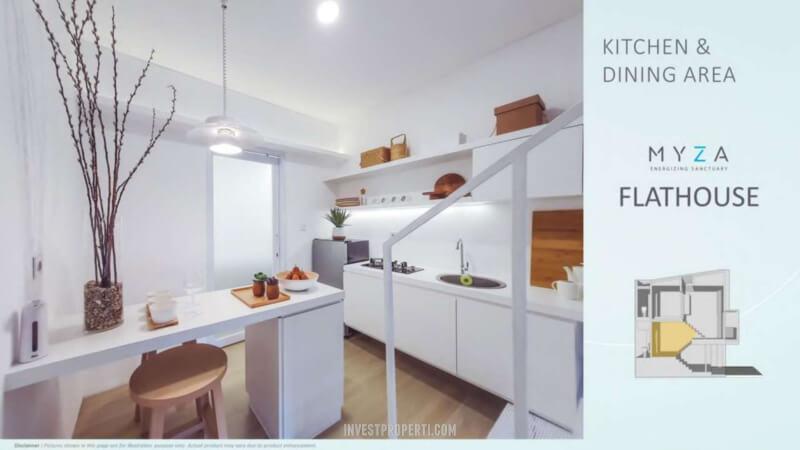 Rmah Myza BSD - Kitchen Dining Room