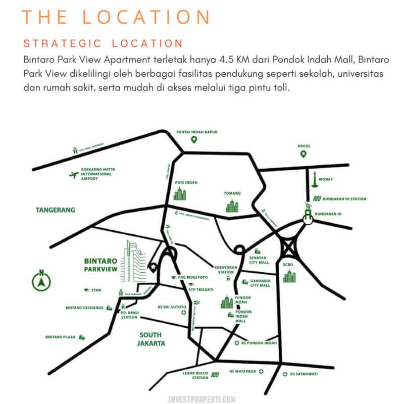 Lokasi Bintaro Park View