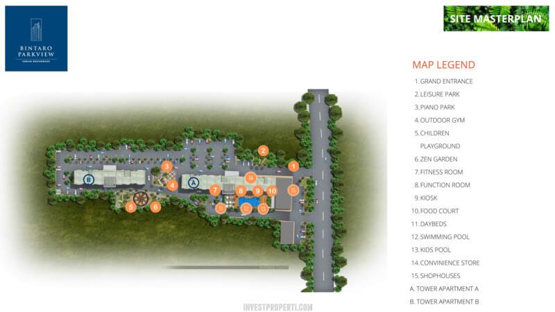 Master Plan Bintaro Park View