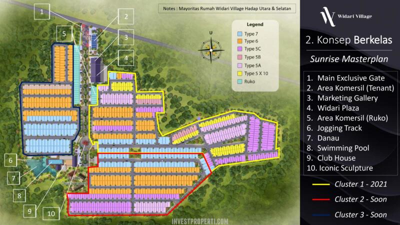 Master Plan Widari Village Legok