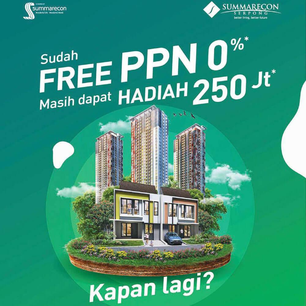 Program Free PPN 0% Summarecon Serpong
