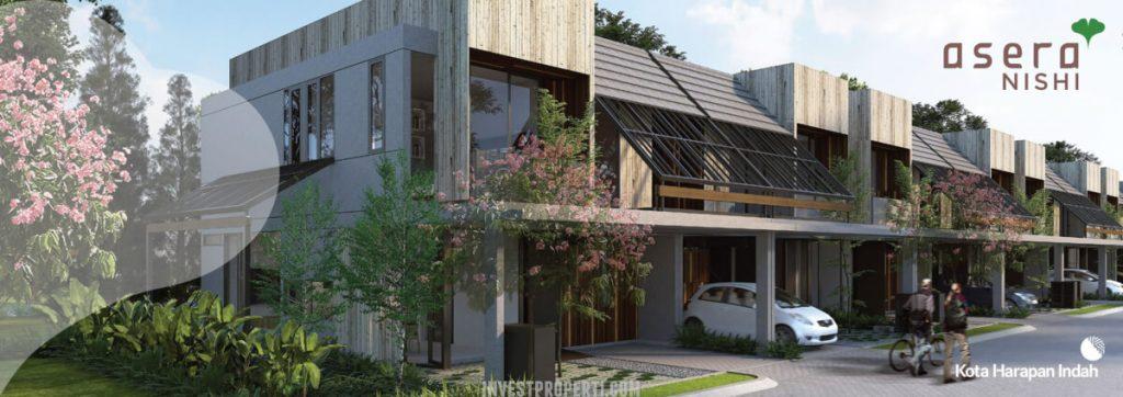 Rumah Cluster Asera Nishi KHI Bekasi