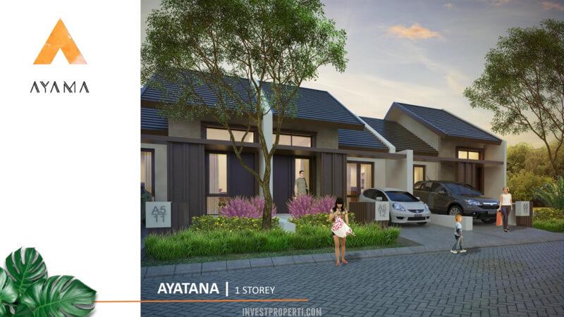 Rumah Ayama Bhumi Amala Tangerang Tipe Ayatana