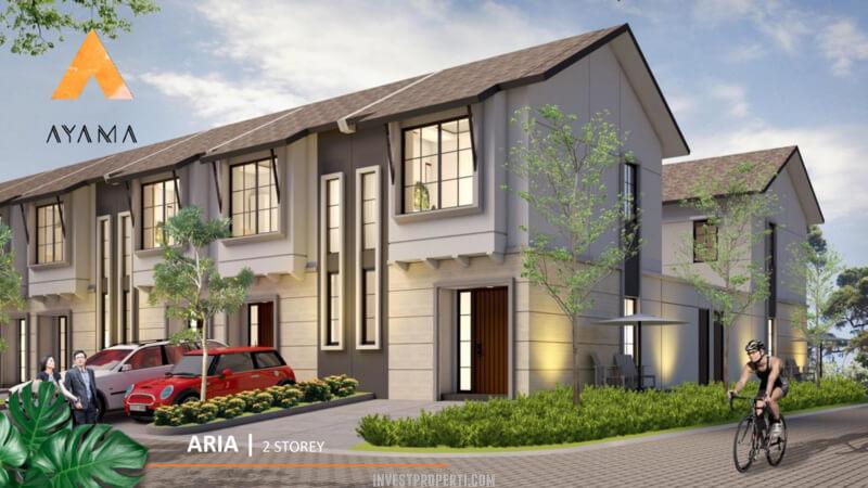 Rumah Ayama Tangerang Tipe Aria 2 Lantai