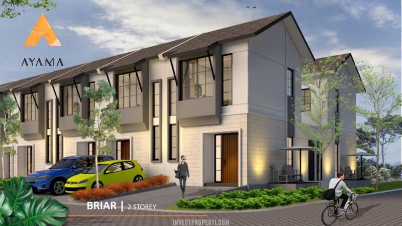 Rumah Ayama Tangerang Tipe Briar 2 Lantai