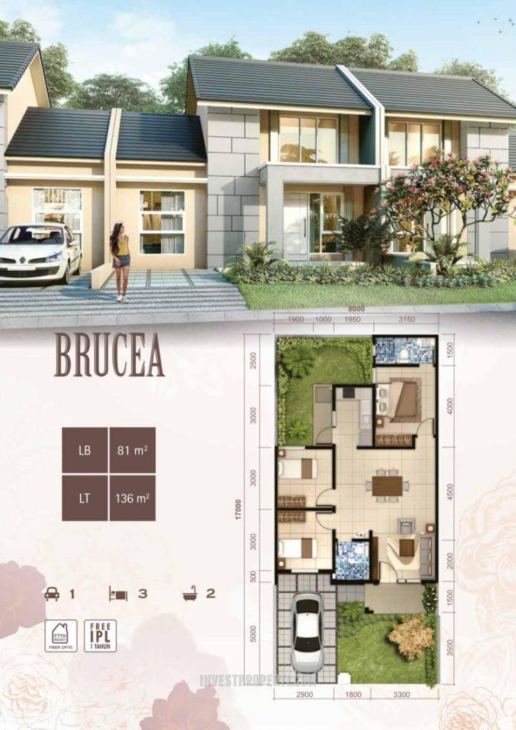 Rumah Brucea Suvara Sutera - Cluster Bianca