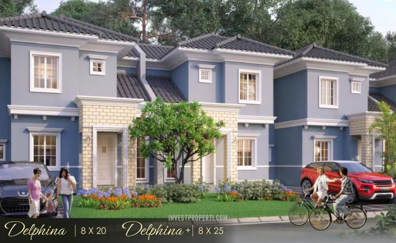 Rumah Delphina Suvara Sutera - Cluster Daru