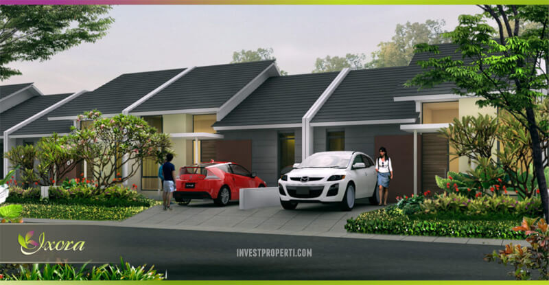 Rumah Ixora Suvara Sutera - Cluster Indira