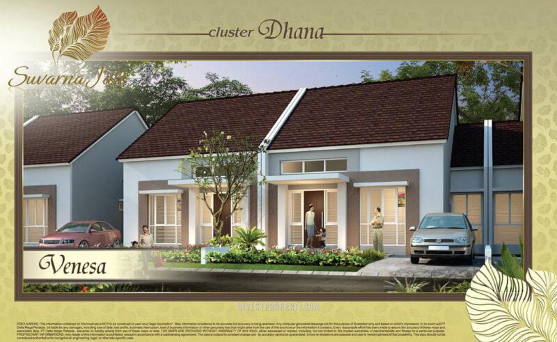 Rumah Venesa Suvara Sutera - Cluster Dhana